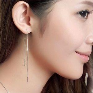 Threader earrings 20cm long